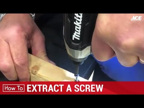 How To Extract a Screw - Ace Hardware