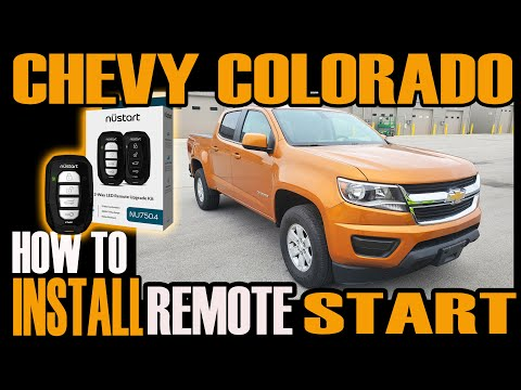 CHEVY COLORADO / GMC CANYON — HOW TO INSTALL REMOTE START CM900 PLUS T HARNESS