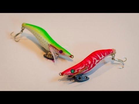 魚用のエギを作るっ!/Attach Fish Hook to Squid Jig