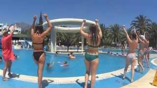 видео Экскурсия по Турции в июле Анталия, Кемер, Бельдиби, Помуккале