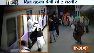 CCTV Caught Horror of Dadar Station, Man Crushed Under Train