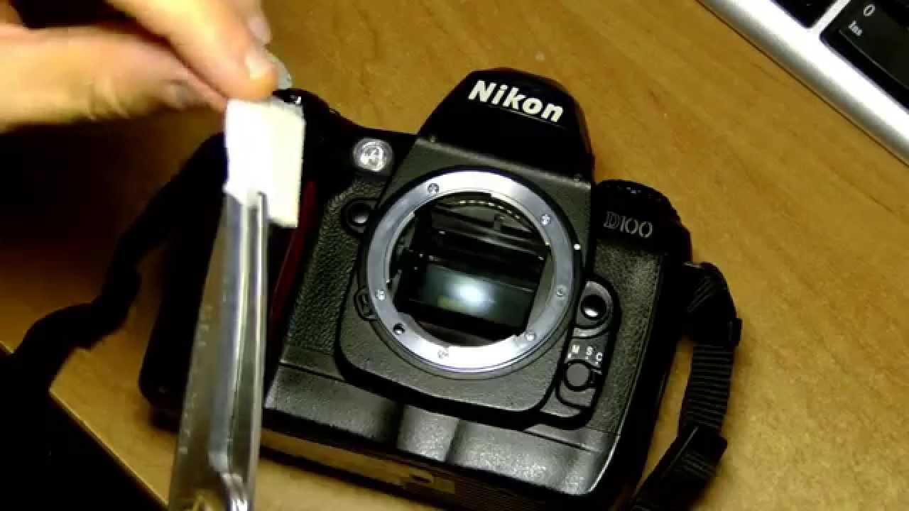 очистка матрицы цифровой фотокамеры камеру