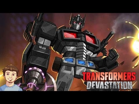 transformers devastation nemesis prime vs all autobots