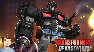 Transformers Devastation - Nemesis Prime VS All Autobots!!!