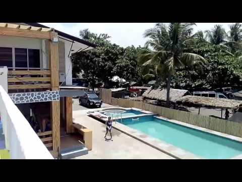 Pool & Beach View - Gold Coast Marina Beach Resort, Morong, Bataan