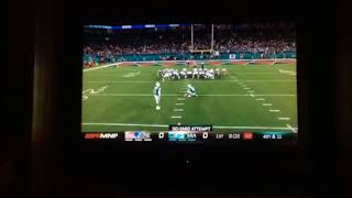 Patriots Good Stop On 3rd Down And Good Opeing Drive For The Dolphins FG Good!!!