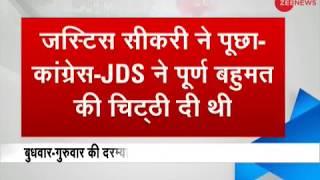 Justice Arjan Kumar Sikri: On what grounds Karnataka Governor invited BJP to form govt ?