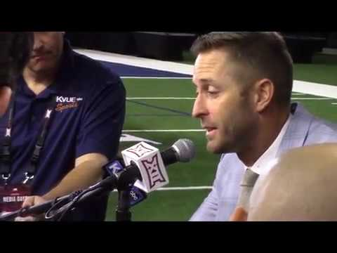 "Kliff Kingsbury ""We must improve everywhere to get to where we want to go this year"""