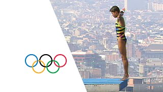 13 Year Old Mingxia Fu (China) Wins Diving Gold - Barcelona 1992 Olympics