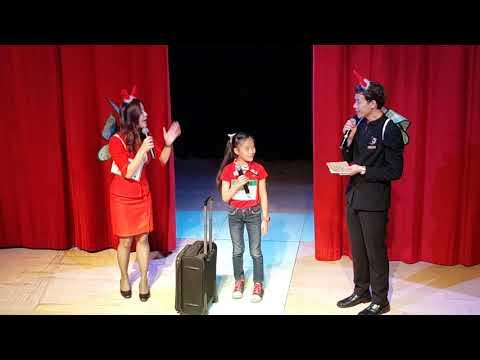 Pryn Little Model : AirAsia Cabin Crew Junior Camp 2017 Airasia thailand
