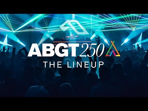 ABGT250 at The Gorge Amphitheatre: The Lineup (Continuous Mix)