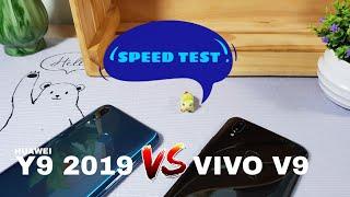 HUAWEI Y9 2019 Vs. VIVO V9 [SPEED TEST]