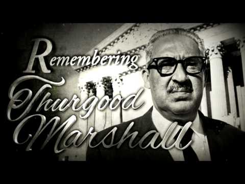 Moments In History: Remembering Thurgood Marshall