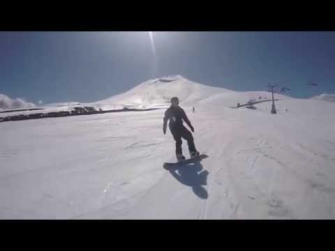 Naturally Leah: Snowboarding at Corralco Mountain in Pucon, Chile