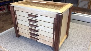 In this video we take a look at the pen diplay cabinet i build for all the pens i turned and sell.. Velvet application Video ...
