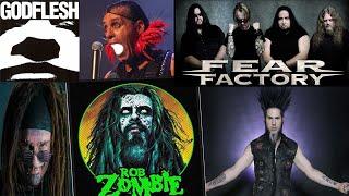 TOP 12 Mejores Bandas del METAL INDUSTRIAL || @SicklessHell