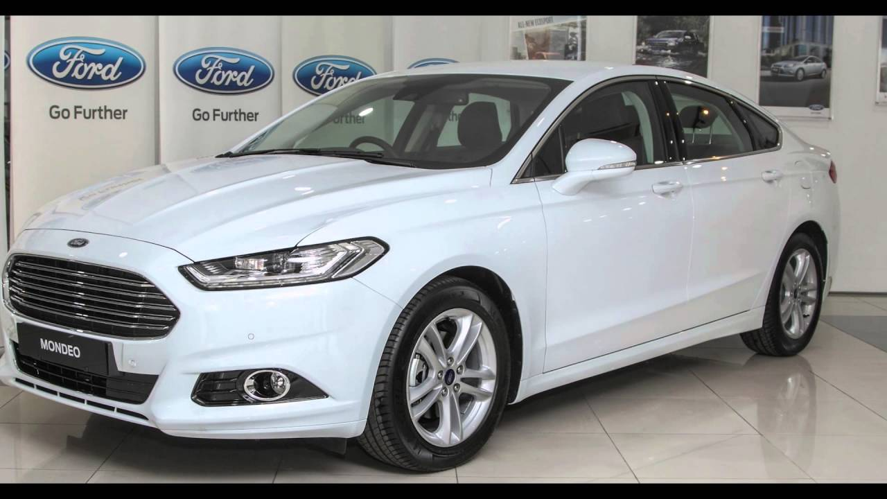 Ford Mondeo 2015 White >> 2016 Ford Mondeo Frozen White - YouTube