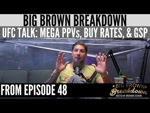 Big Brown Breakdown - UFC Talk: Mega PPVs, Low Buy Rates, GSP Relevancy