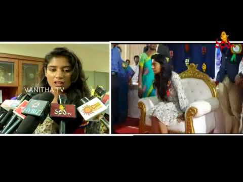 Kasturba Gandhi Jr College Felicitates Indian Women's Cricket Captain Mithali Raj || Vanitha TV