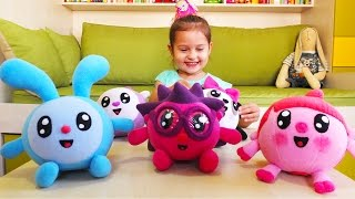 Малышарики іграшки. Подарунок для Селін. День народження