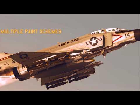 SWS F-4B Phantom II & Midway class trailer