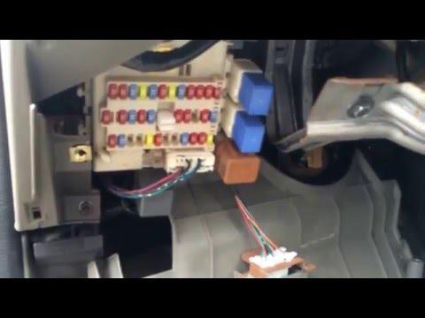 fuse box on nissan sentra repair manual 2007 Nissan Altima Fuse Box