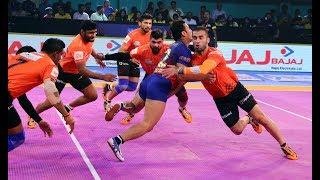 Pro Kabaddi 2018 Highlights   Dabang Delhi Vs U Mumba   Hindi