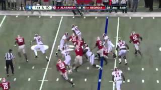 2012 SEC Championship Highlights: #2 Alabama Vs #3 Georgia