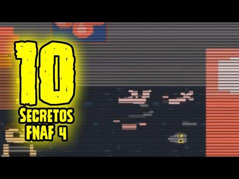 TOP 10: 10 Secretos De Five Nights At Freddy's 4 Que Tu No Sabias | FNAF 4