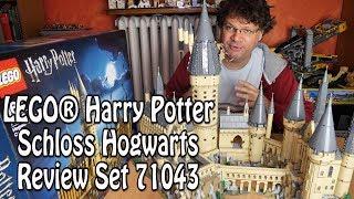 Test: Großes LEGO Hogwarts Schloss (Harry Potter Set 71043)
