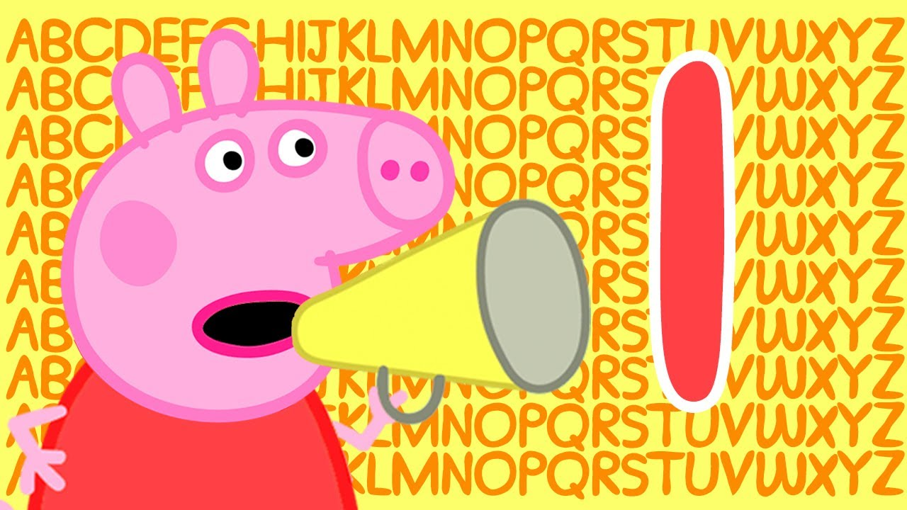 Peppa Pig 🔠 Letter I | Learn the Alphabet with Peppa Pig | ABC Letter Boxes | Learn with Peppa Pig