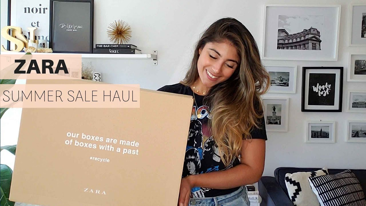 a3522815722a7 ZARA SALE HAUL + TRY ON | SUMMER 2018 - YouTube