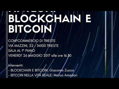 Blockchain e Bitcoin a Trieste - Paolo Barrai