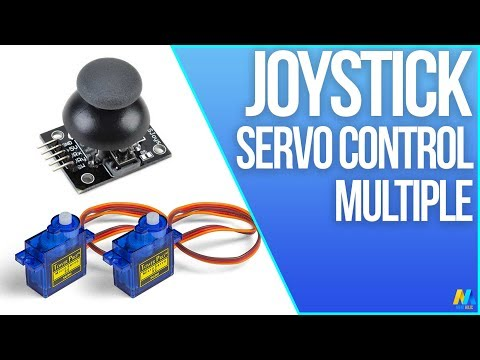Multiple Servo Motor Control with Joystick and Arduino