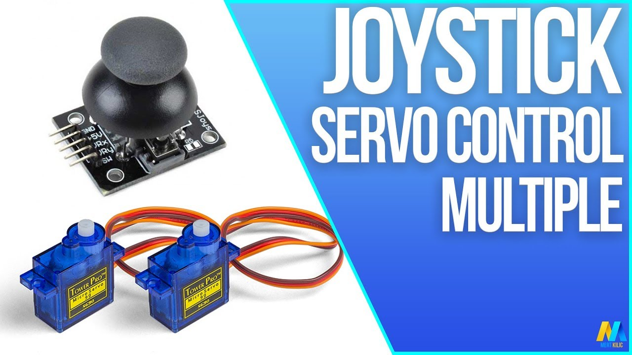 Arduino tutorial 28 servo motor control with joystick for How to control servo motor