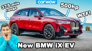New BMW iX EV - see why it's an UGLY Tesla Model X beater!