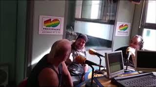 Derrame Rock 18-10-2018 Entrevista a Mike Terrana y Alberto Rionda de Avalanch All Star Band