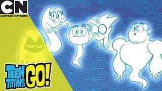 Teen Titans Go! | Titan Ghosts | Cartoon Network UK 🇬🇧