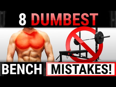 8 Dumbest Bench Mistakes Sabotaging Your Chest Growth! | STOP DOING THESE!