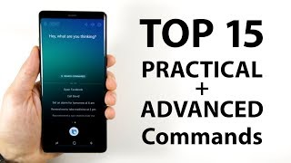 Top 15 Practical/Advanced Bixby Commands on the Note 8 and S8