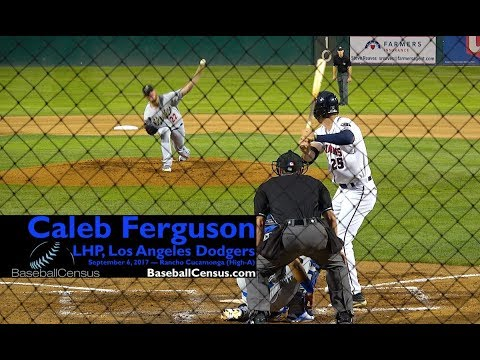 Caleb Ferguson, LHP, Los Angeles Dodgers — September 6, 2017