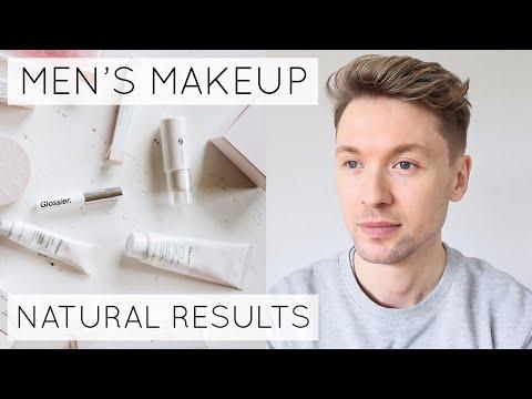 Mens Makeup Tutorial // Glossier Skin Tint // Natural  Finish // James Just Now thumbnail