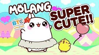 SUPER CUTE Molang A Happy Day