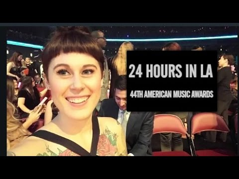 24 HOURS IN LA | 44TH AMERICAN MUSIC AWARDS