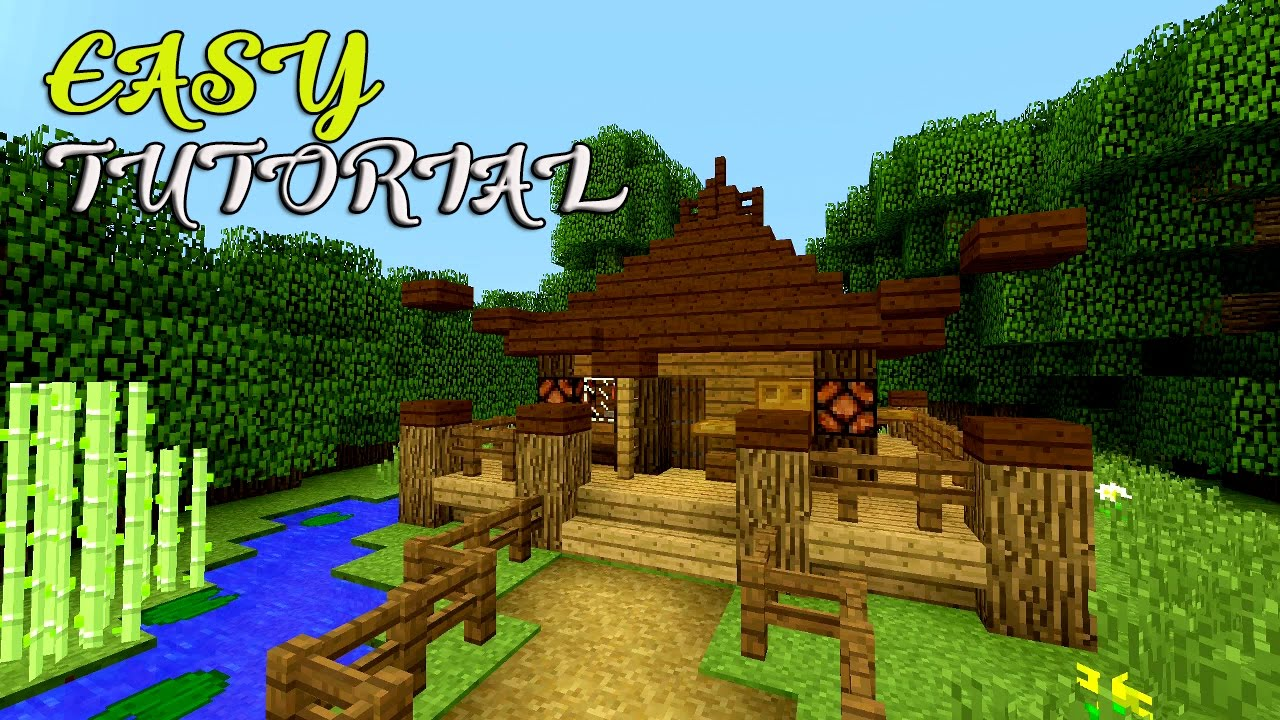 japanese ] minecraft: how to make a small house tutorial | easy