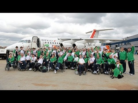 Gallery - Irish Paralympians Return Home