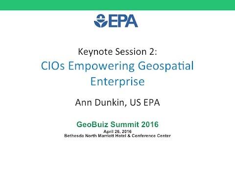GeoBuiz Summit 2016 : CIOs Empowering Geospatial Enterprise