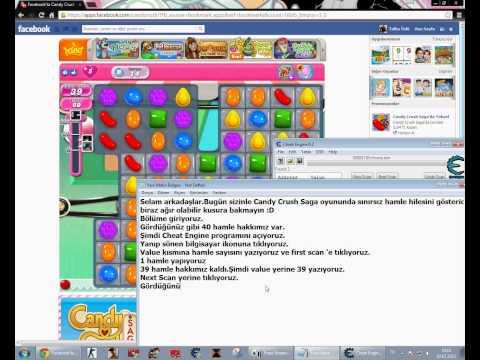 Candy Crush Saga Hamle Hilesi Türkçe 720p