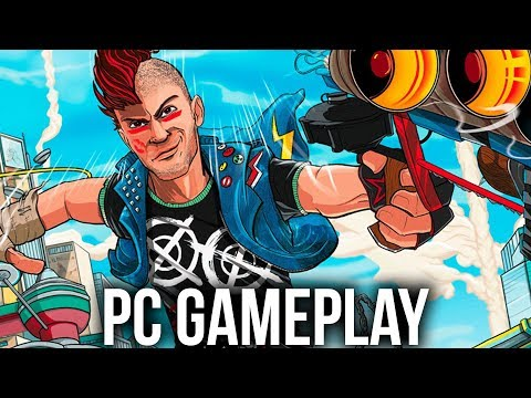 SUNSET OVERDRIVE PC Gameplay - MY FAVOURITE XBOX ONE GAME NOW ON PC STEAM