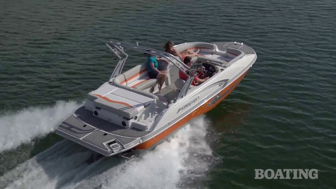 Boating Magazine Review: Starcraft Star Step 221 E Surf Series